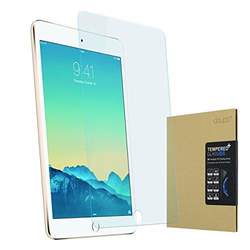 doupi Protector de Pantalla Compatible con iPad Mini 4 & Mini 5, 3D 9H HD Duro Vidrio Templado, Transparente