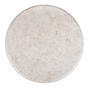Evco International Creative Home 74100R Marble Lazy Susan, Champagne