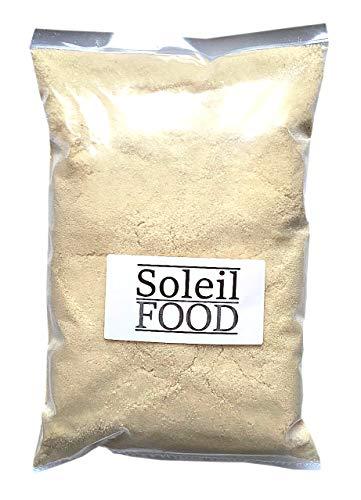 1 kg Mandelmehl gemahlen weißes Mandelmehl blanchiert Mandel Mehl gemahlene Mandeln GMO frei Soleilfood