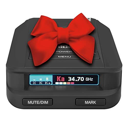 Uniden DFR9-BLK Black Super Long Range Laser/Radar Detector, Built-in GPS w/Real-Time Alerts, Voice Alerts, Red Light Camera & Speed Camera Alerts,...