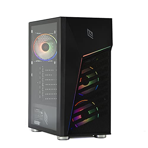 MAK OFFICE I - PC Desktop RYZEN 3 4300GE 4 CORE 8 Threads,4.00GHz,SSD NVME 500 GB, RAM 16GB 3200MHZ,COMPUTER DA GAMING, WINDOWS 10 PRO