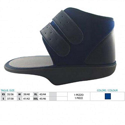 Zapato post-quirúrgico en talo (baruk) sin borde lateral Art.151 Talla XL 43/44