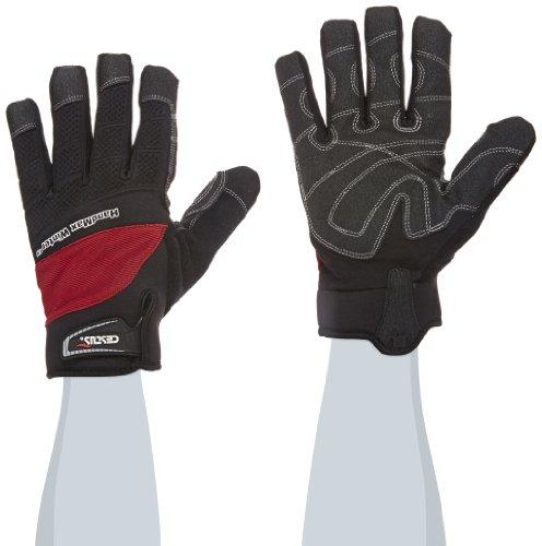 Cestus HM WINTER R-5012 2XL Temp Series Isolierter Handschuh, schnittfest, 2X-Large, rot (1 Paar)
