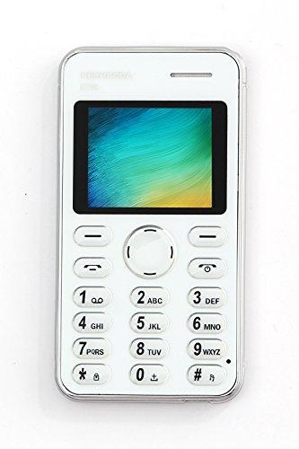 KECHAODA K116 Plus Slim Card Size Dual Sim Light Weight Keypad Phone (Silver)