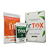Fit Tox 30 Day Teatox, Ayurvedic Detox Tea with Oolong, White Tea, Chamomile