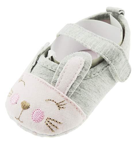 Glamour Girlz Sandalias De Algodón Con Correa Para El Primer Caminante Para Bebé Y Niña, Diseño...