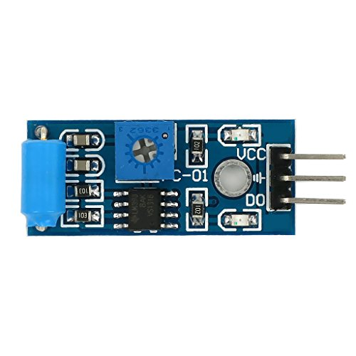 SW 420 Vibrations Neigungssensor Alarmmodul Vibrationssensor Für Arduino Blue