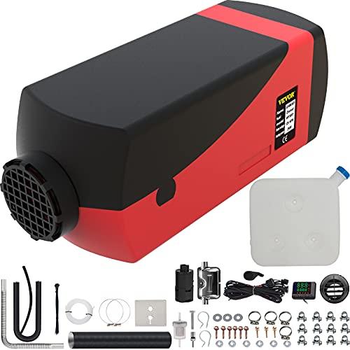 VEVOR Calentador de Aire Diesel 12V 2KW con Silenciador Cale