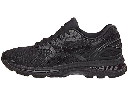 ASICS Men's Gel-Nimbus 20 Running Shoe, Black/Black/Carbon, 6 Medium US