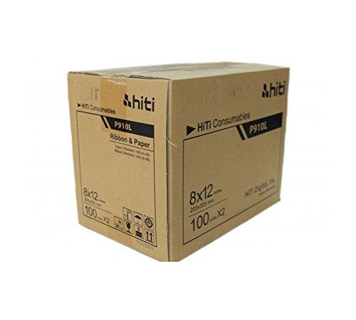 HiTi Papier für Drucker p910l–200Ausdrucke 20x 30