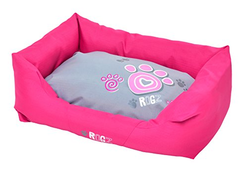 Rogz PPL-CA Spice Podz Dog Bed/Hundebett, L, rosa
