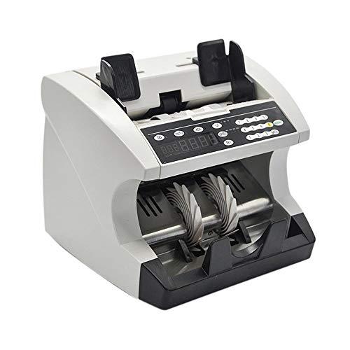 LBSX Compteur d'argent avec UV/MG/détection IR, Le Projet de Loi de comptage Machine avec détection de Faux Billets Bill - Affichage à LED, lot Modes Multi-devises Automatique Argent comptant Bank