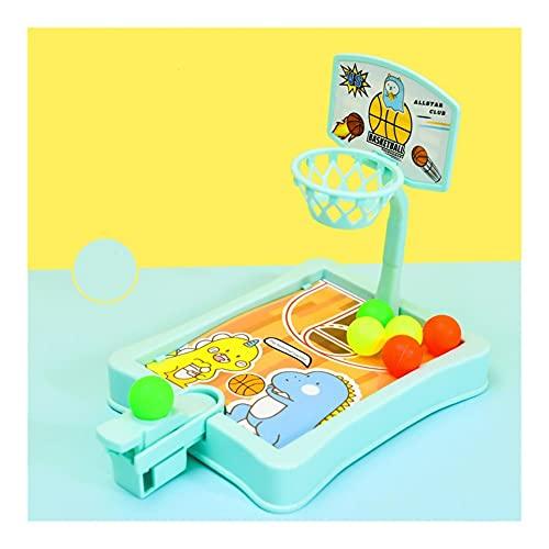 Z-Color Máquina de Disparos de Baloncesto Mini Catapult de los niños, Regalo niño y niña Juguete Baby Puzzle Desktop (Size : A)