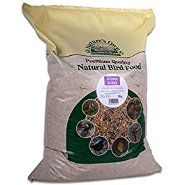 Nature's Own Premium Quality Natural Wild Bird Food Seed All Seasons Winter Feed & Tigerbox Antibacterial Pen