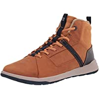 Caterpillar Code Quest Mod Hi Construction Boot (Curry) for Free