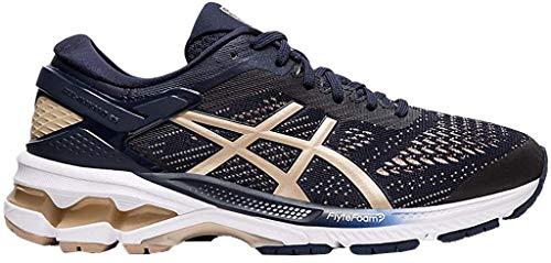 ASICS Women's Gel-Kayano 26 Running Shoe, 7.5, Polar Shade/White