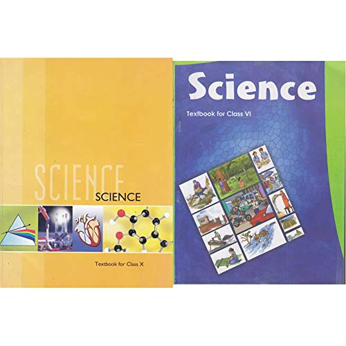 Science Textbook for Class 10- 1064 + Science Textbook for Class - 6 - 652 (Set of 2 Books)