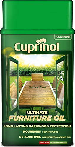 Cuprinol 5212402 Ultimate Furniture Oil Exterior Woodcare, Clear