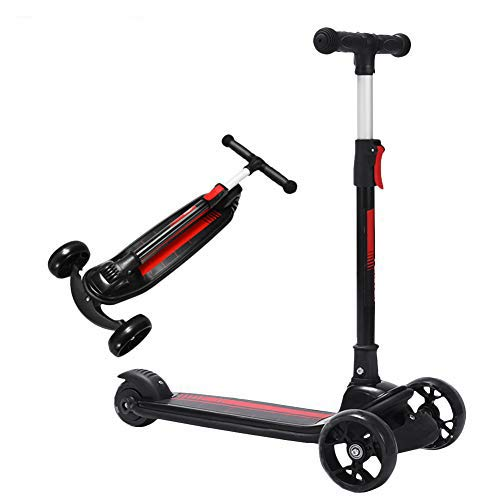 Patinetes Chunlan City Scooter Altura Ajustable Niños Scooter Plegable con Rueda Intermitente...