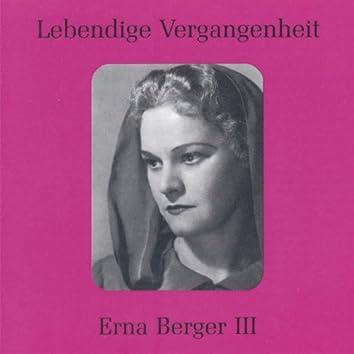 Lebendige Vergangenheit - Erna Berger (Vol. 3)