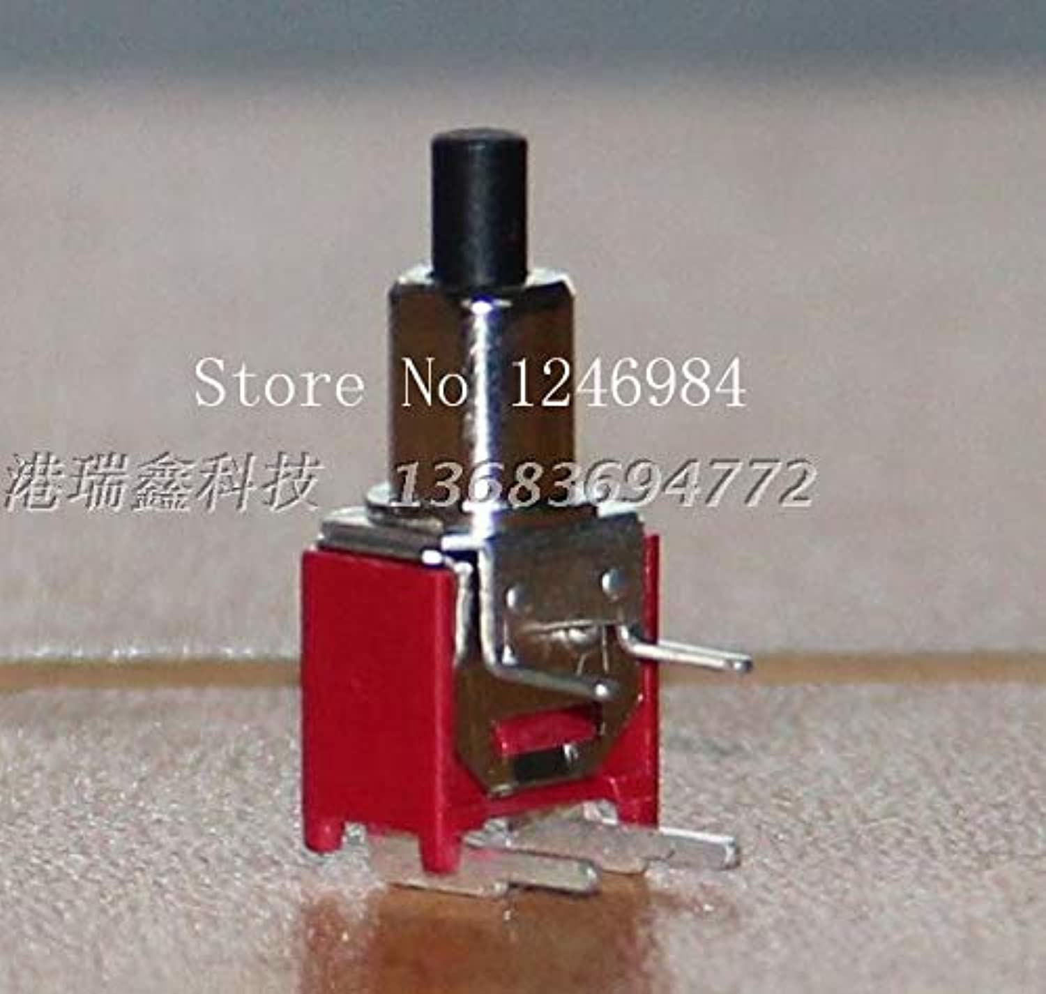 [SA]TS21A Trigger Legs are Bent Single Small Toggle Button Reset Switch Normally Open Switch M5.08 Taiwan SH50pcs lot