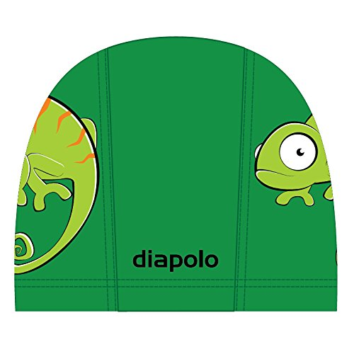 Diapolo Chameleon Lycra Cap tessuto aspirante cuffia da nuoto Cappuccio Cappuccio