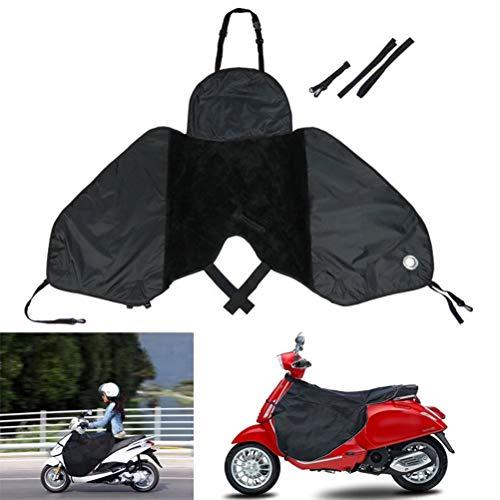 NNGT Cubrepiernas universal cubrepiernas para scooter - Cubrepiernas impermeable - Resistente al viento - Invierno cálido para scooter eléctrico