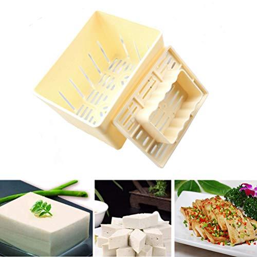 豆腐作り器 豆腐型プラスチック 豆腐メーカー 自家製豆腐 手作り豆腐造り型 DIY 金型ボックスプラスチック豆腐作る金型キットでチーズ布