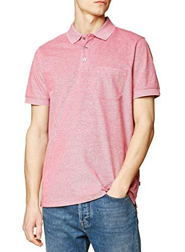 Maerz Muenchen Herren Poloshirt Kurzarm pink (71) 56