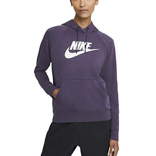 Nike Sudadera de mujer con capucha con logo violeta cód. BV4126-574 fucsia / blanco XS