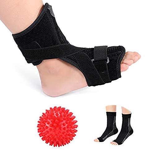 Plantarfasziitis Nachtschiene für Damen und Herren, orthopädische Stützung für den Fuß, mit...