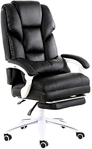 N/Z Daily Equipment Chair Home Office Chair Game Live Chair 170 deg; Reclinable Design Comfort Backrest Boss Chair Bearing Weight 200kg Desk Chairs C (Color : Beige)