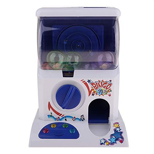 chiwanji Mini Fun Gashapon Machine Toys Capsule Machine Puzzle Educación Juego de Aprendizaje Máquinas Expendedoras para Niños