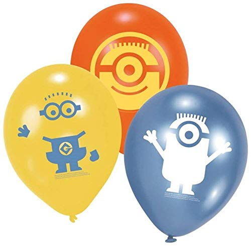 6 Minions Luftballons