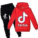 ZKDT Tik Tok - Sudadera con capucha para niña A3. 100 cm