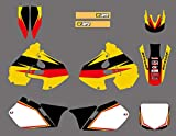 Equipo Full Set calcomanías Pegatinas de gráficos Fondos Kits for Suzuki RM 125 250 RM125 RM250 1999 2000 de la Motocicleta
