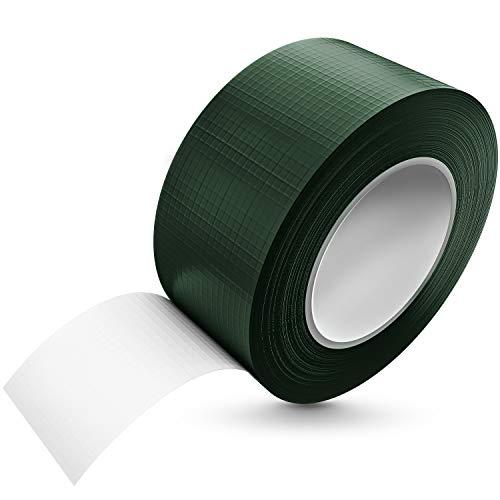 Tape-King [50m x 48mm] Panzertape oliv grün wasserfest mit extremer Klebkraft I Korrigierbares Panzerband handreißbar I Gewebeband, Gaffa Tape, Duct Tape