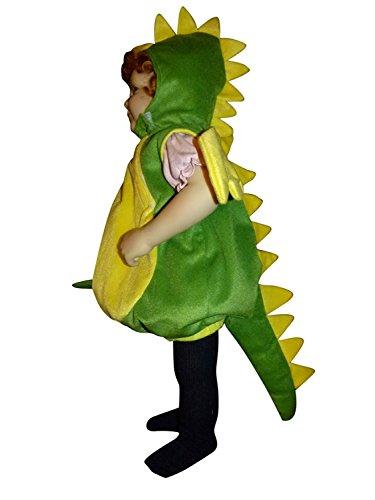 F82 Tamaño 2-3 años traje del dragón para los bebés y niños pequeños, cómodo de llevar en la ropa normal