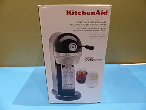 KitchenAid Sparkling Beverage Maker, Onyx Black