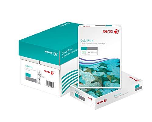 Xerox 003R95254 Premium Farblaser-Papier Druckerpapier ColorPrint Din A4, 90 g/m², Karton mit 5 Pack a 500 Blatt, weiß