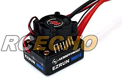 RCECHO& 174; HOBBYWING EZRUN Max10 60A RC Brushless Motor ESC Speed Controller SL555 with 174; Full Version Apps Edition