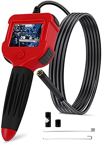 X&Z-XAOY 5,5Mm HD Cámara De Endoscopio De Doble Lente IP67 Cable A Prueba De Agua Cámara Boroscopio,6 Luces LED para Automóviles/alcantarillado/tuberías De Desagüe (Size : 5m)