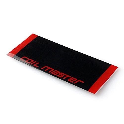 Coil Master Lot de 10 piles 18650 stratifiées Heat Shrink Tube en PVC tubes 29 mm 100% authentique de taping batterie 18650 manches Shrink film de remplacement