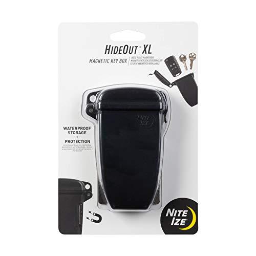Nite Ize KBXL-01-R7 Waterproof Key and Fob Hider, XL, Black