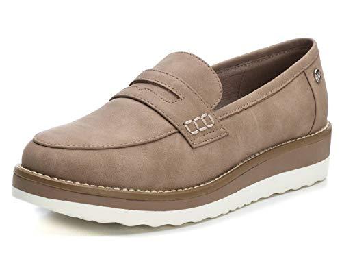 XTI Zapato Mocasín XTI044020 para Mujer Marrón 40
