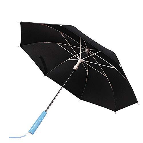 Powzz ornament Paraguas luminoso personalizado para lluvia o brillo paraguas de mango largo con luz LED linterna paraguas