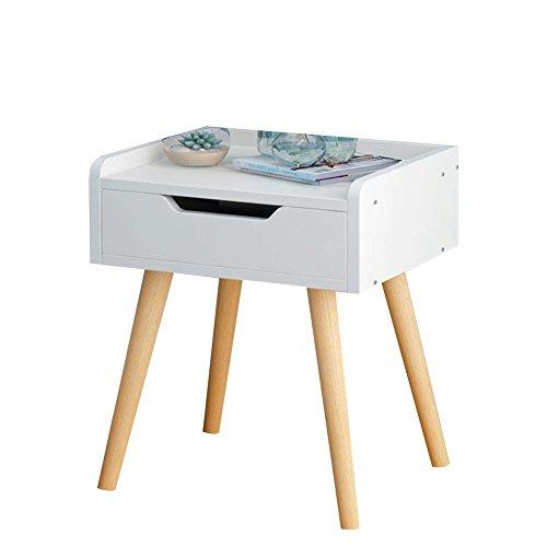 Table de chevet JCOCO Panneau à Base de Bois de avec Le Stockage de tiroir, de boîte de Rangement de casier de Chambre à Coucher (Couleur : #2, Taille : 33 * 28 * 54cm)