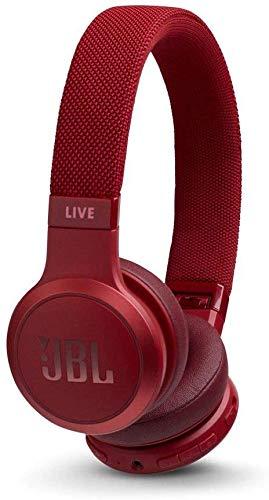 JBL LIVE 400BT - Auriculares Inalámbricos con Bluetooth, asistente de voz integrado,...