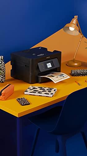 Epson WorkForce Pro | WF-3820DWF | Drucker für Chromebook | 4-in-1 Tintenstrahl-Multifunktionsgerät (Drucker, Scanner, Kopierer, Fax, ADF, WiFi, Ethernet, NFC, Duplex, Einzelpatronen, DIN A4) - 3