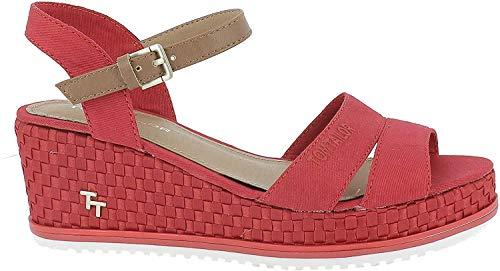 Tom Tailor 6991901 - Sandali da Donna, Rosso (Rot (Red 00004)), 39 EU